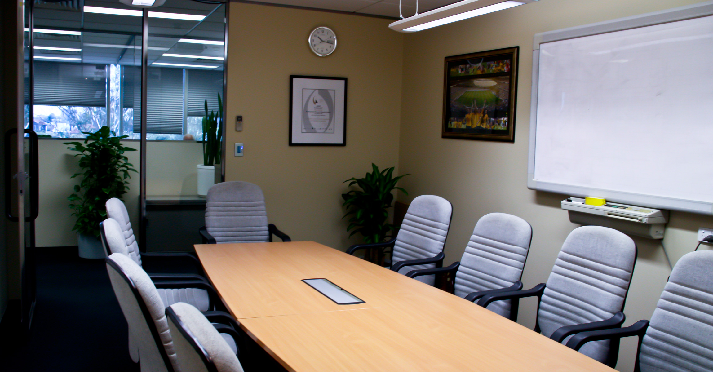 Downer edi office fitout ckj building services for Home office fitout
