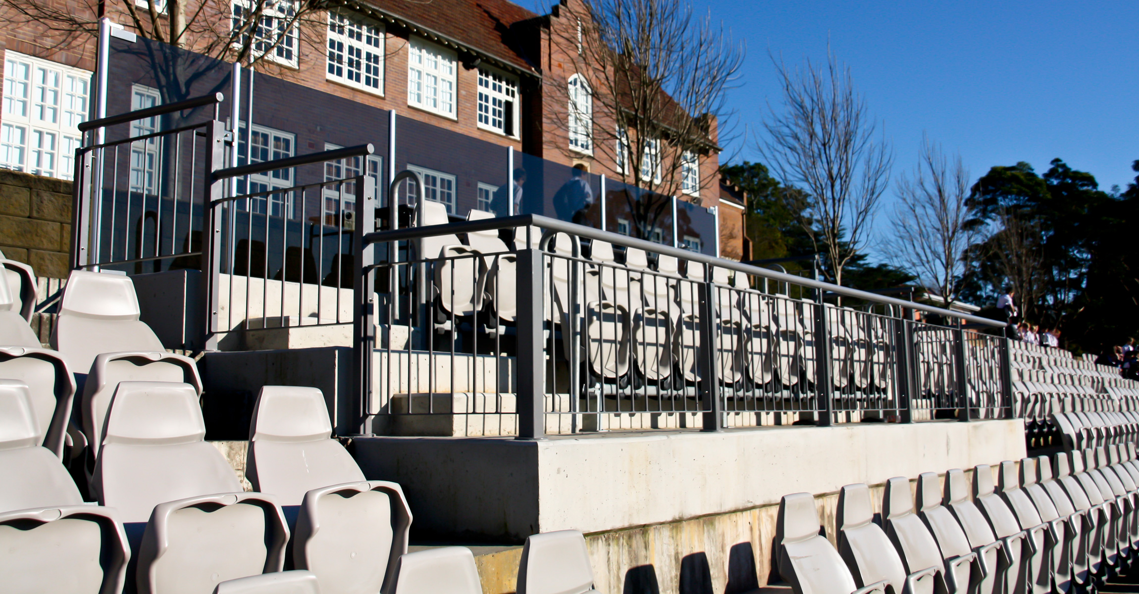 School Grandstand Building Services