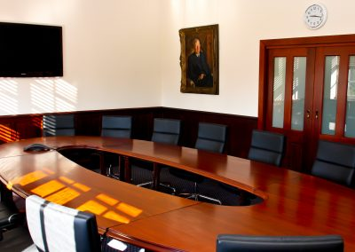 Knox Headmaster's Boardroom
