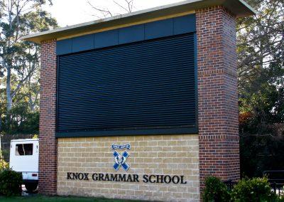 Knox Scoreboard