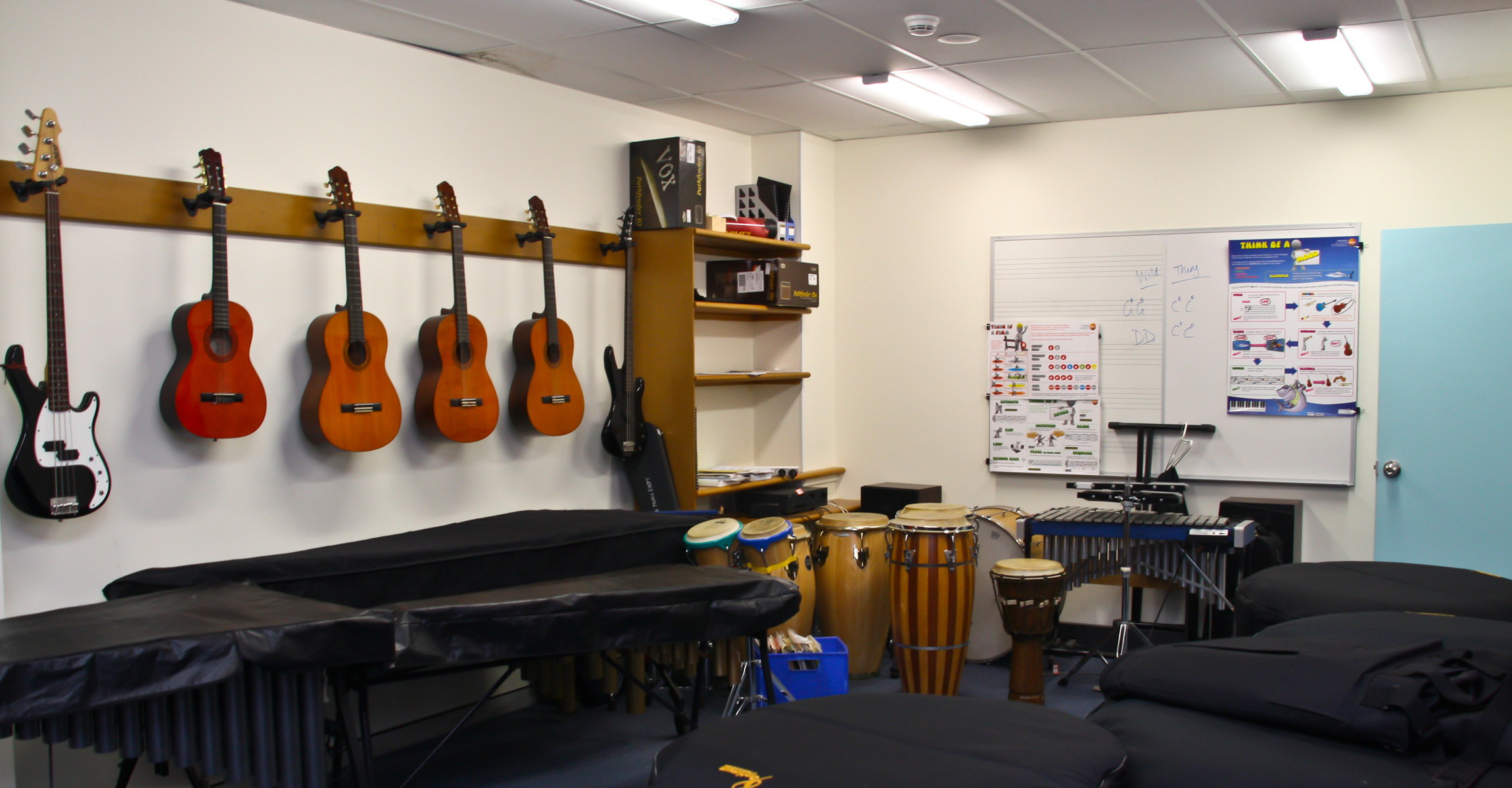 Music Practice Rooms Design